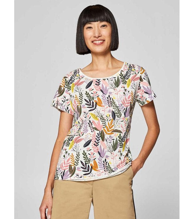 T-SHIRT 100% COTON MOTIF GROUPE SAFARI multi