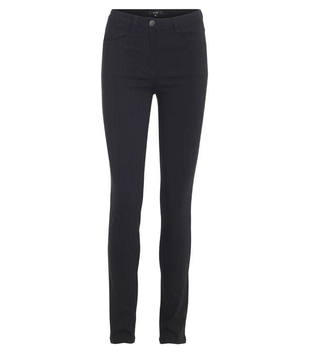 PANTALON SPORT CHIC BASIC BENGALINE bordeau