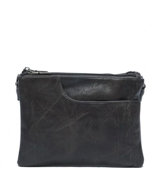 SAC A MAIN CROSSBOSY PETIT charcoal